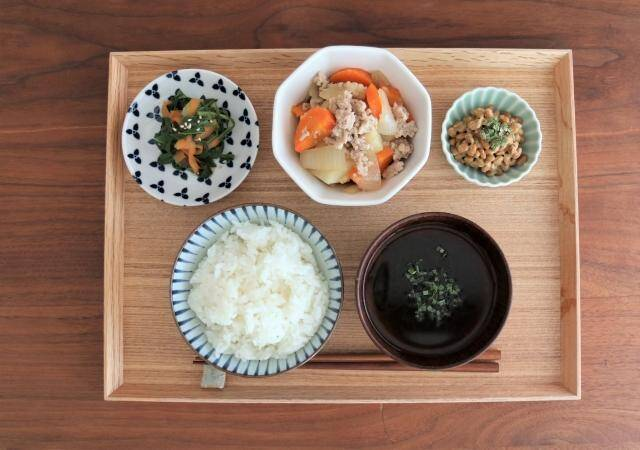 野菜を含んだ料理の写真