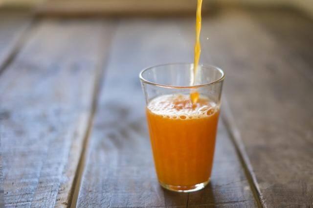野菜ジュースの写真