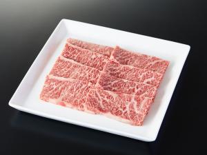 米沢牛のロース肉の写真