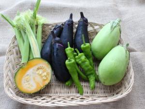 有野野菜の写真